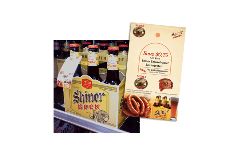 Shiner Smokehouse Beer Hangers